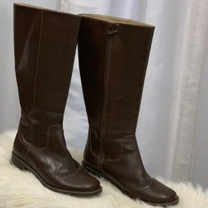 L.L. Bean genuine leather boots size 8.5W